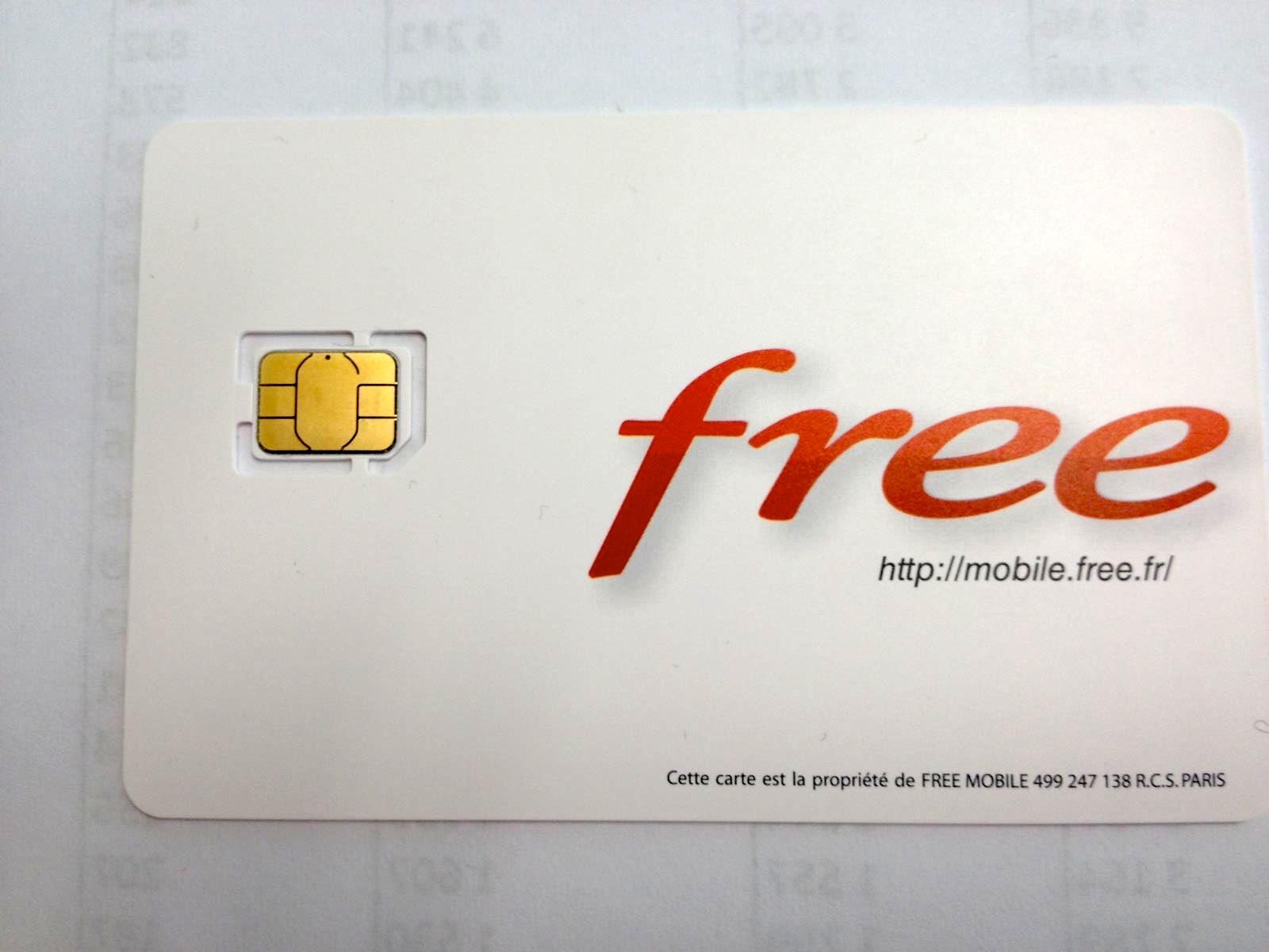 Photos Les Cartes Nano Sim Sont Pretes Chez Free Mobile