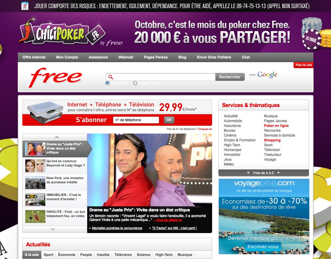 portail free fr