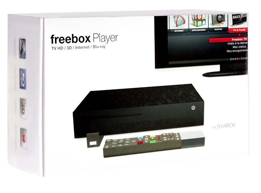 Freebox Révolution : un design atypique par Starck