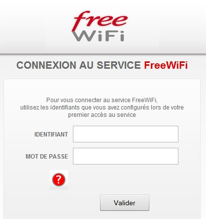 comment trouver mes identifiants free wifi