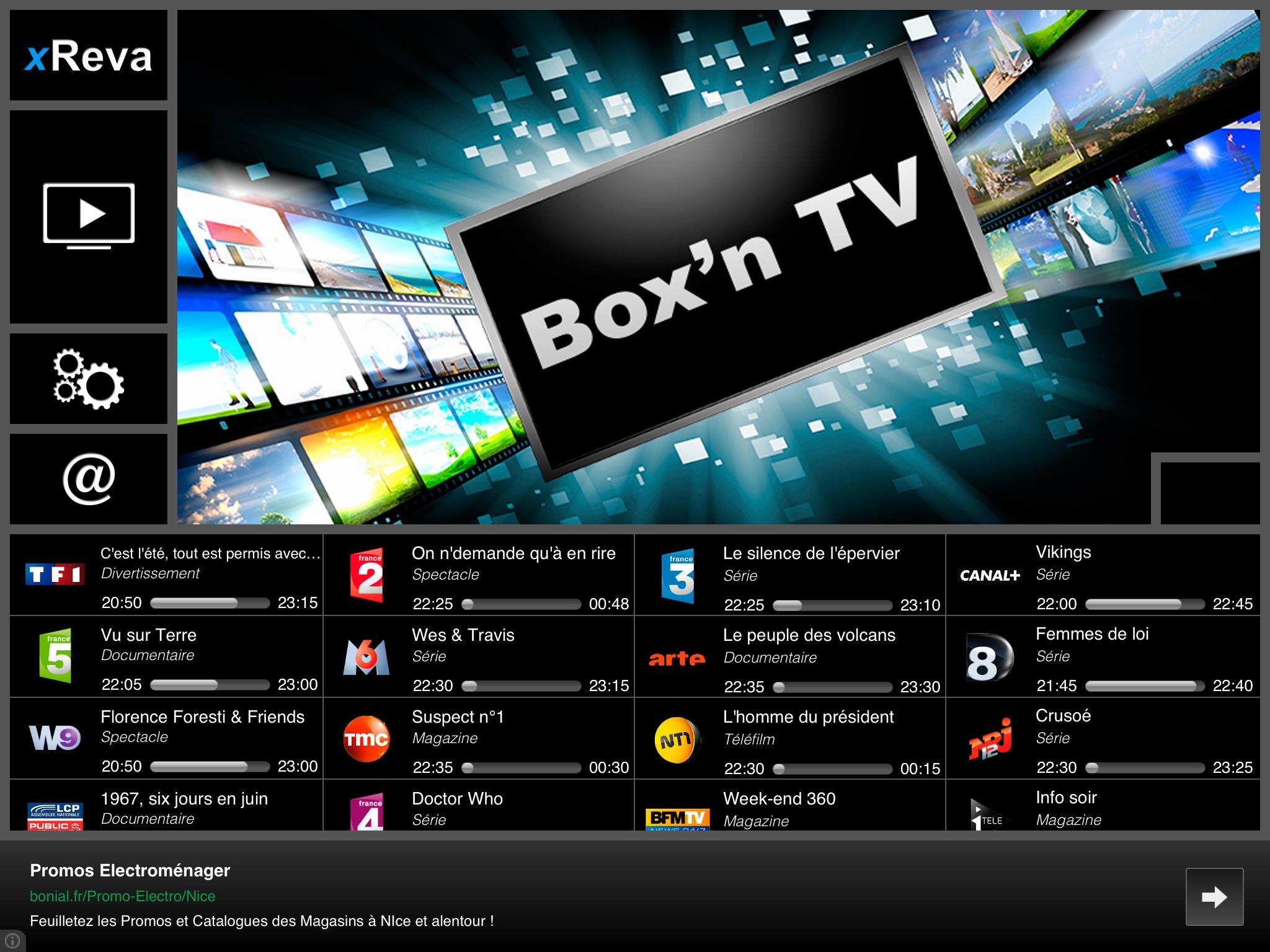 box u0026 39 n tv  une nouvelle app tv multiposte pour freebox et ipad