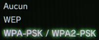 PS3 Cryptage Wifi