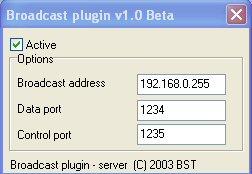 Broadcast Plugin