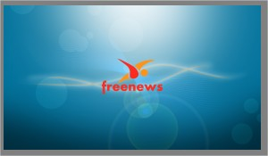 Wallpaper Freenews orange