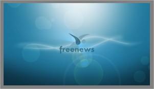 Wallpaper Freenews Blue