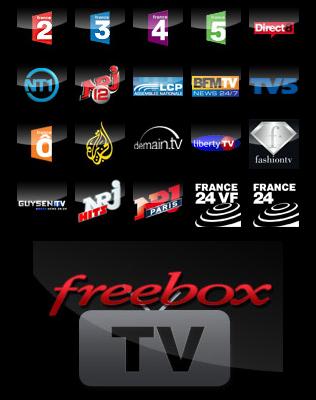 Liste FreeboxTV