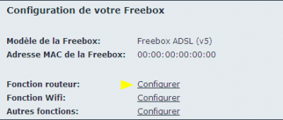 Xbox 360 interface Free routeur 2