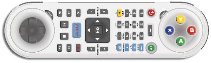 Télécommande Freebox HD