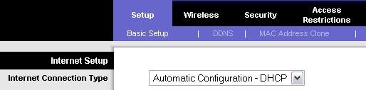 Configuration en DHCP
