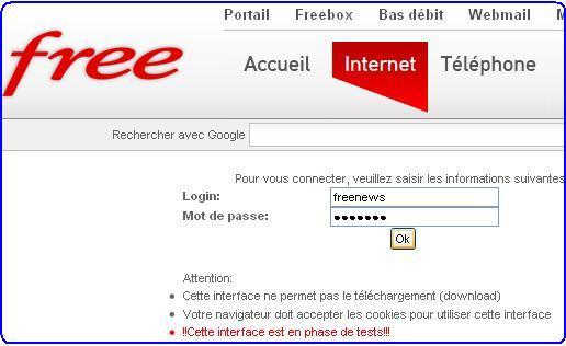 créer page perso free