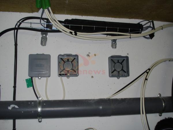 Arrivée de fibres optiques dans l'immeuble