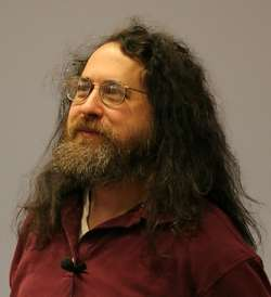 Richard Stallman (source Wikipedia)