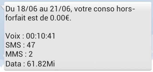freenews edition nationale  free mobile le suivi conso disponible par sms