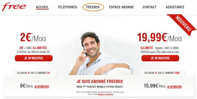 recrutement la freebox s 39 affiche sur le site de free mobile. Black Bedroom Furniture Sets. Home Design Ideas