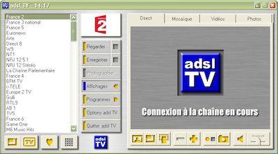 adslTV, aujourd'hui référence du genre. (2006)