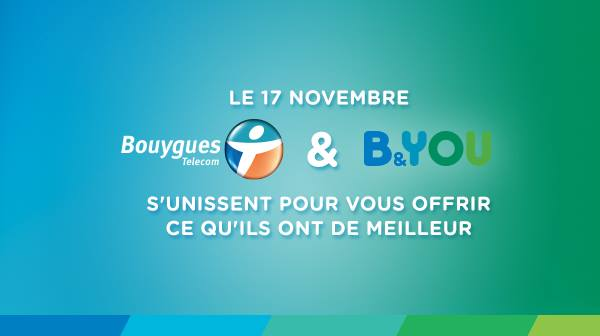 Bouygues & B&YOU s'unissent