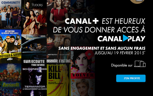 Offre Canalplay