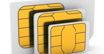 Cartes SIM (mini-SIM, micro-SIM, nano-SIM)