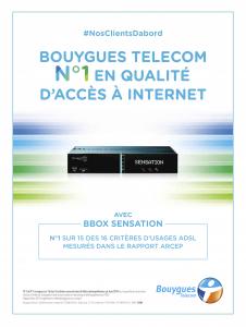 Publicité Bouygues Telecom déc. 2014