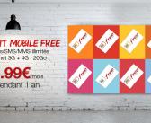 Le forfait Free Mobile à 3,99€/mois pendant un an sur Vente-Privée