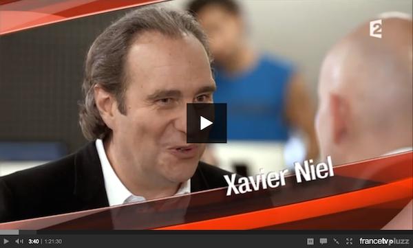 """Xavier Niel dans """"L'angle éco"""" sur France 2"""