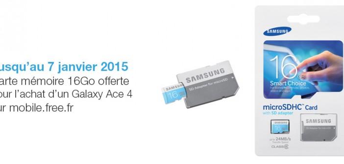 Offre Galaxy Ace 4 (décembre 2014)