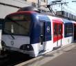 Une rame du RER A RATP en gare de Boissy-Saint-Léger