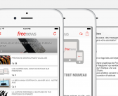 Freenews lance sa nouvelle application iPhone/iOS