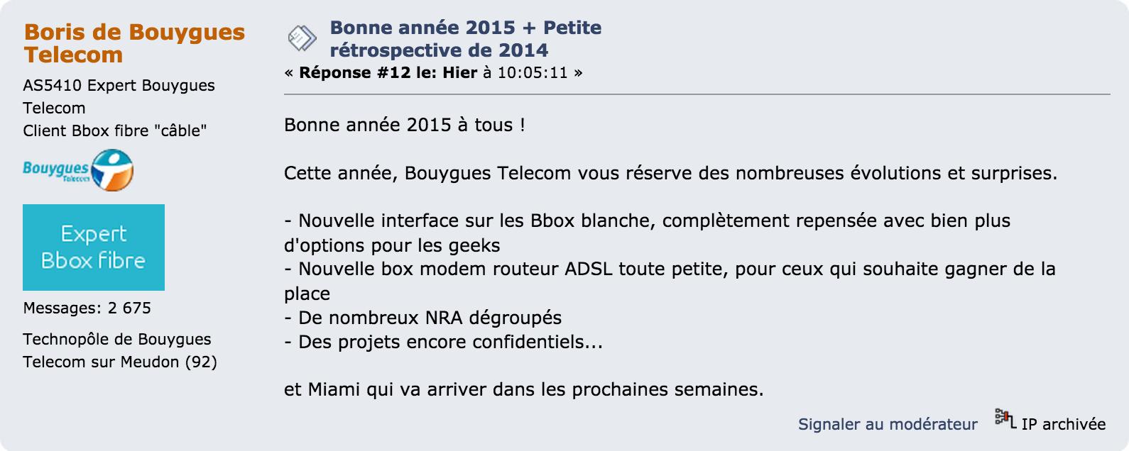 Nouvelle box Bouygues Telecom