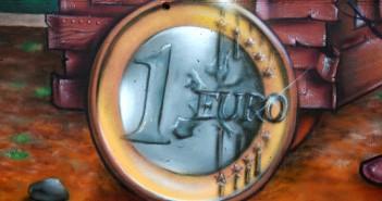 Pièce de 1 euro (peinture)