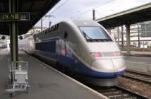 Un TGV SNCF en gare de Lyon, Paris