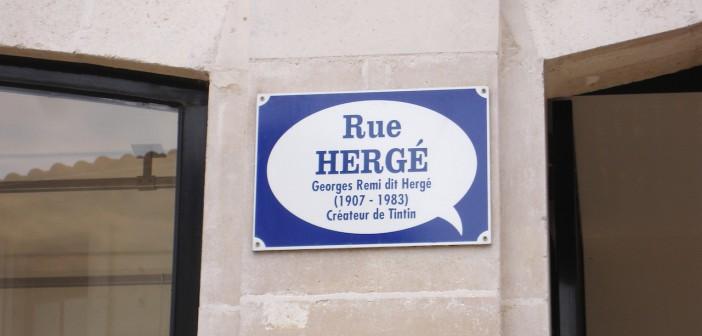 Rue Hergé, Angoulême