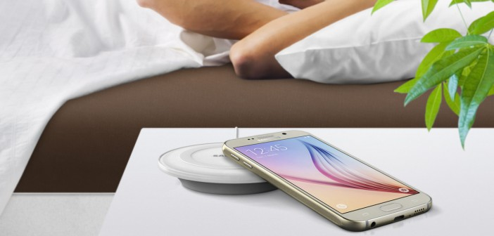 Samsung Galaxy S6 chargeur à induction