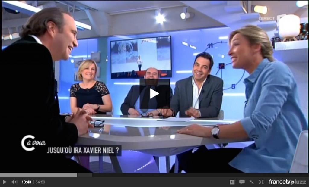 Xavier Niel France 5 C à vous 2