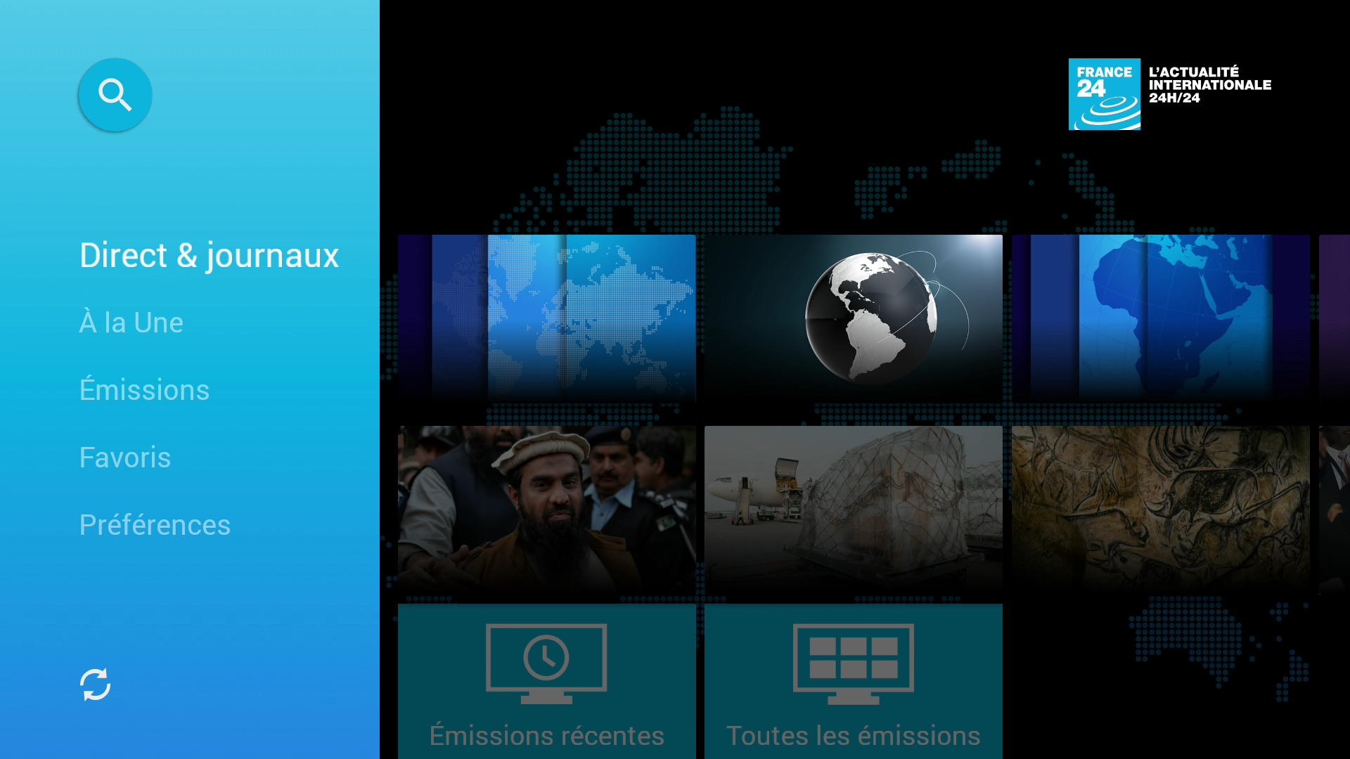 conseil d u0026 39 app   france 24 sur freebox mini 4k