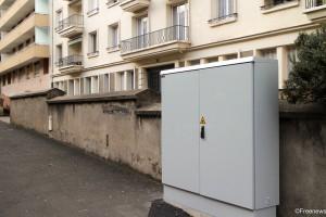 Armoire fibre optique / Clermont-Fd