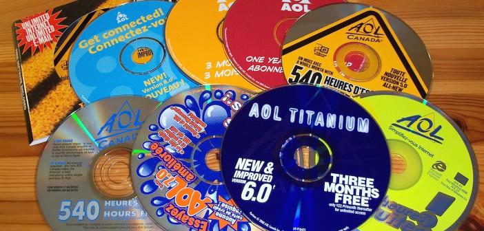 AOL CD-ROM de démonstration