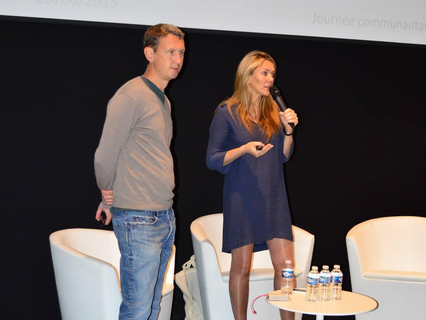 Maxime Lombardini et Angélique Gérard