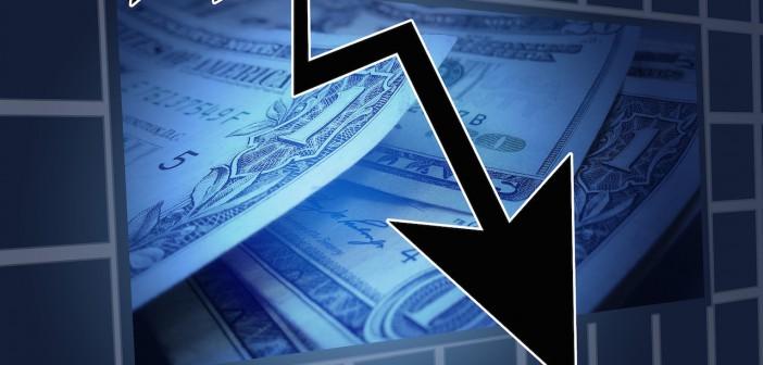 Bourse crach chute mauvaise nouvelle