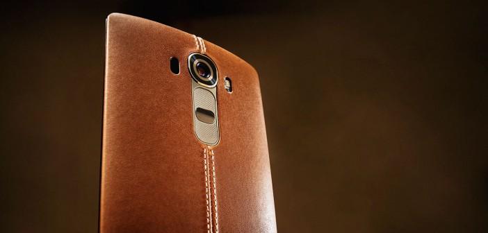 LG G4 cuir marron
