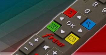 Freebox Révolution Player télécommande télévision Freebox TV