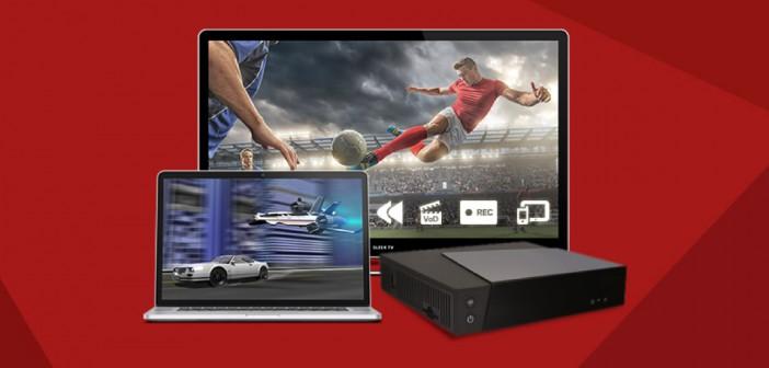 RED fibre avec TV