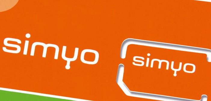 Simyo MVNO carte SIM