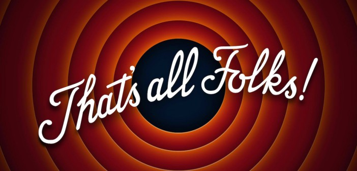That's all folks the end la fin