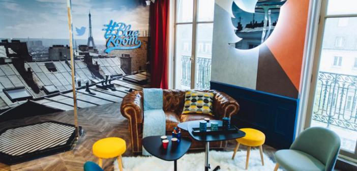Twitter Blue Room
