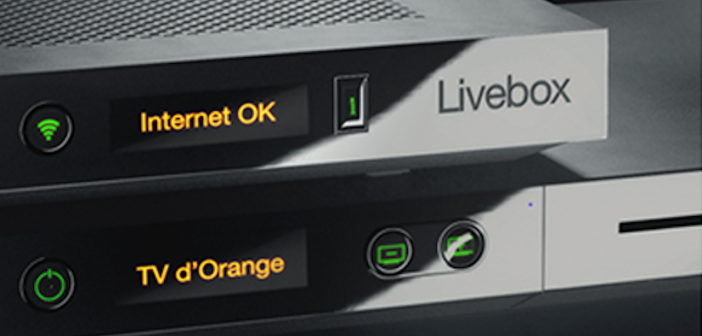 Livebox Play Orange box