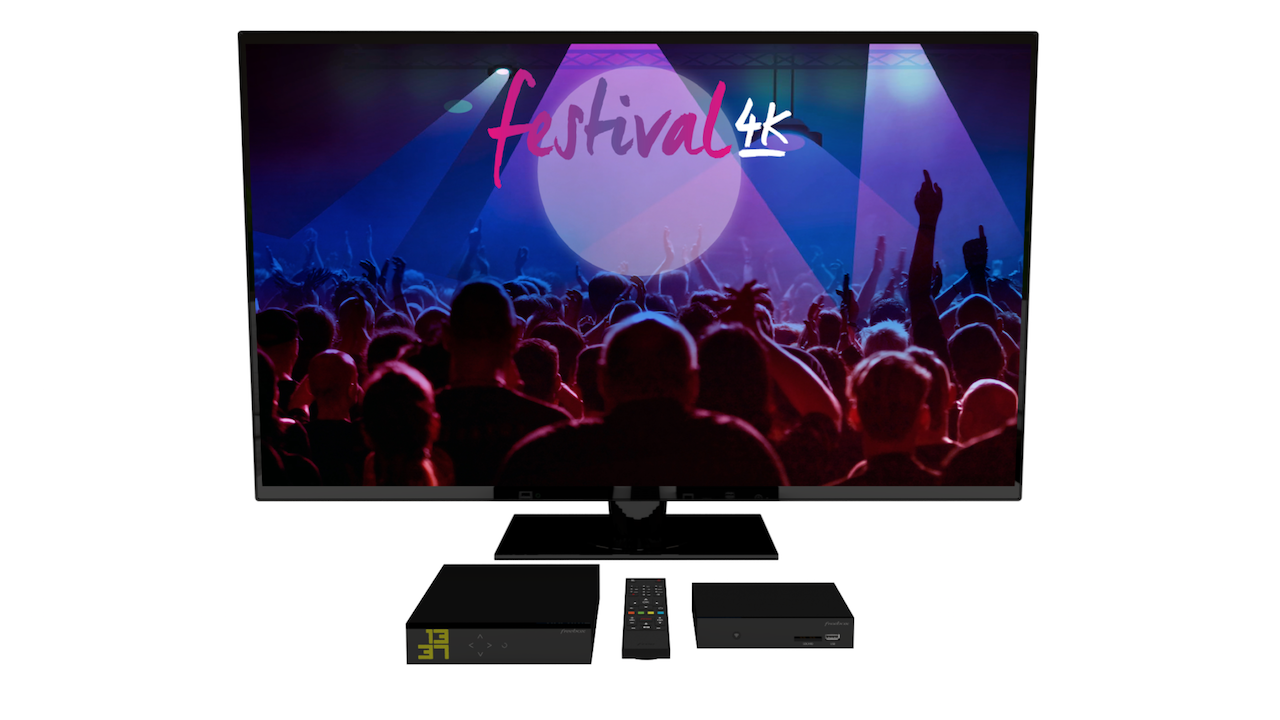 festival 4k freebox
