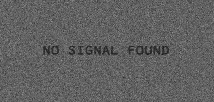 pas de signal panne