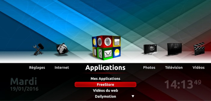 Applications Freebox Révolution FreeStore Free Store