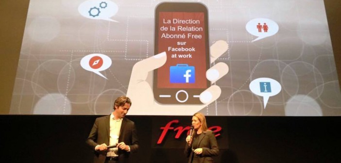 Facebook at work lancement Free février 2016